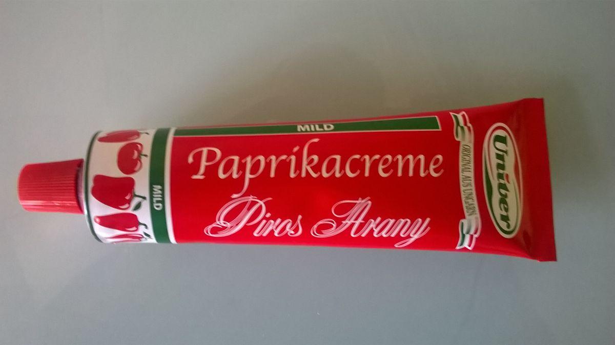 Maďarský paprikový krém jemný Piros Arany 160 g